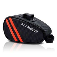 Pre-sale Addmotor Sport Strap-On Bike Seat Storage Bag Wedge Saddle for Cycling with Quick Release Locks Waterproof
