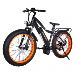 Addmotor MOTAN M-5800 1000W Bafang BBSHD Mid Drive Motor 48V 17.5Ah Electric Mountain Fat Bike