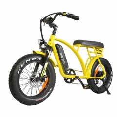 Addmotor MOTAN M-60 Electric Cruiser Beach Bike 500W Retro Fat Tires E-bike