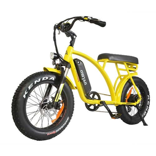 Addmotor MOTAN Electric Bike Cuiser Bikes 500W Powerful Motor 10.4AH 20 Inch Fat Tire Retro E-bike M-60