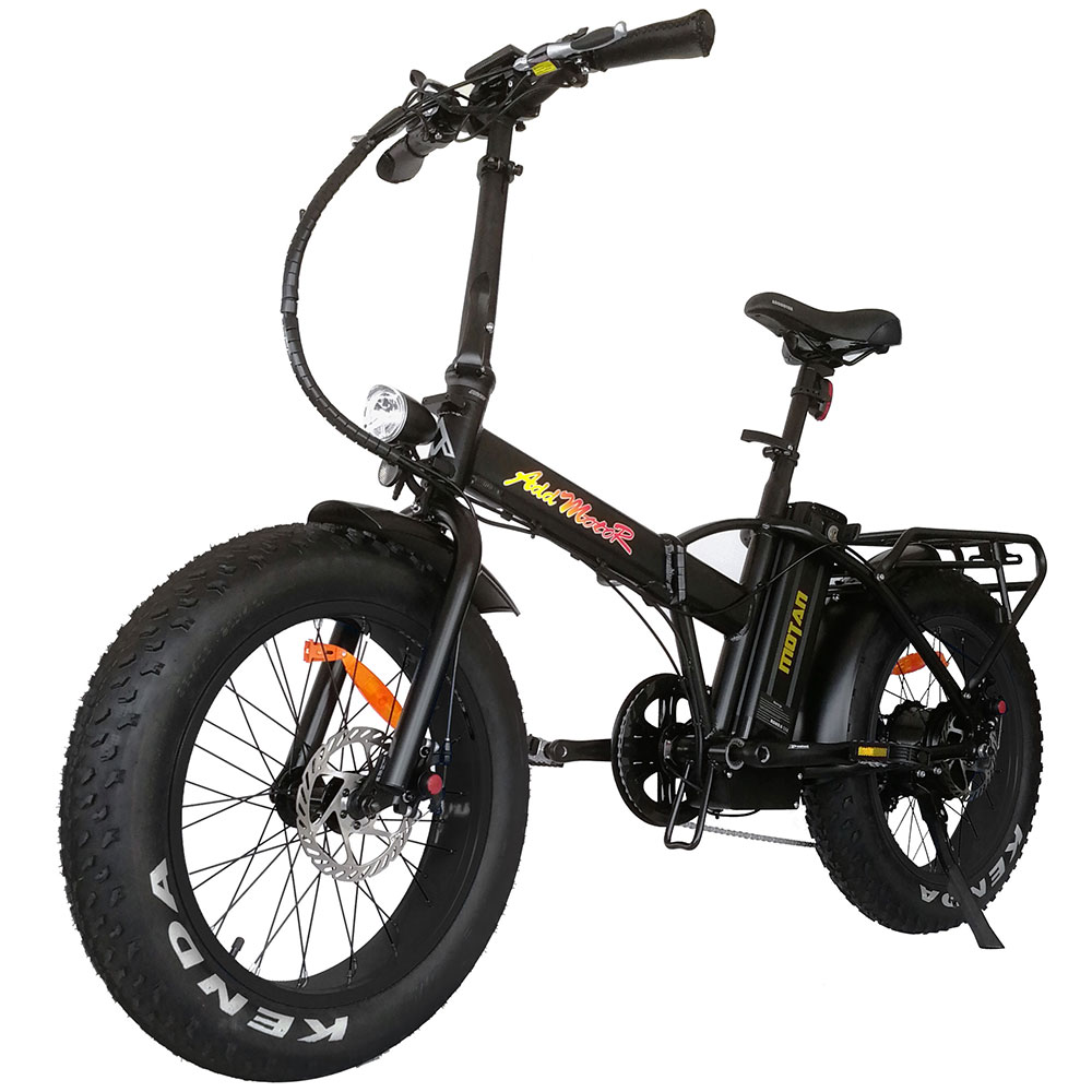 BLACK FRIDAY/CYBER MONDAY Addmotor MOTAN M-140 M-150 500W Folding Electric  Fat Bike