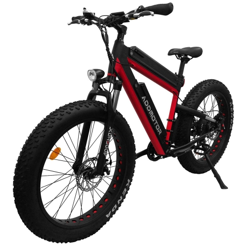 Addmotor MOTAN M-B2 Bafang 750W Dual Batteries Front Suspension 26 Inch Fat Electric Bike