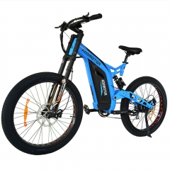 Refurbished Bike -- HITHOT H7 750W Electric Mountain Bike DNM Suspension Spring Shock