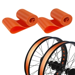 2 Packs PVC Bike Rim Strip Inner Tube Protector for 20'' Fat Tire