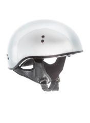 TORC® T-55 Drop Down Half Shell Helmet Gloss White