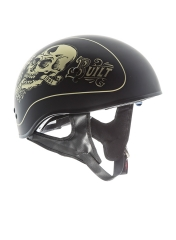 TORC® T-55 Drop Down Half Shell Helmet Lucky 13 Garage