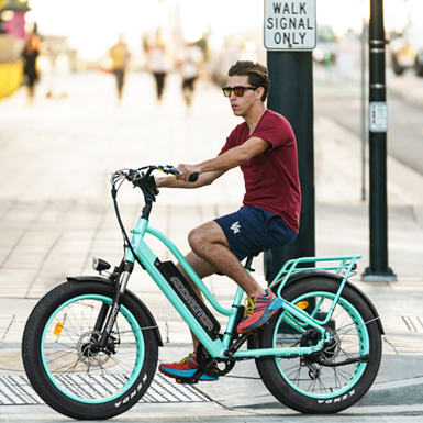 The 5 benefits of choosing an e-bike versus traditional bicycle